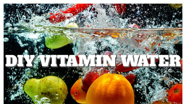 how to make your own vitamin water